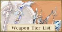 Weapon Tier List