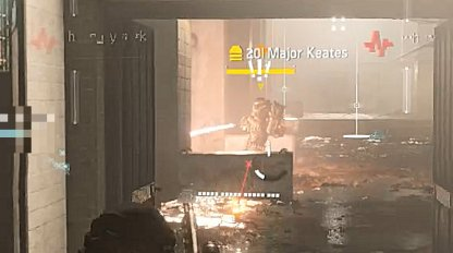 Major Keates Uses A Flamethrower