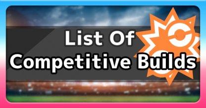 Competitive Build List