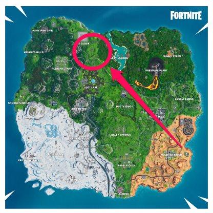 Umbrella Map Location