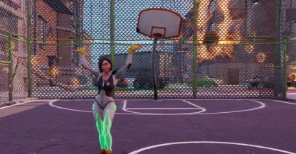 Dance at the Basketball Court Challenge - Summary