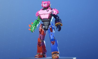 MECHA TEAM LEADER Skin
