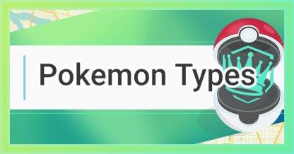 Pokemon Go, Pokemon Types: Effectiveness Chart