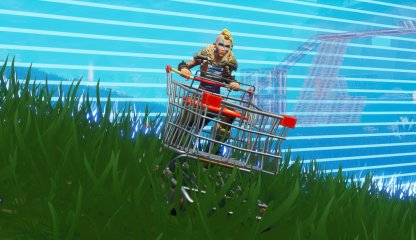 Shopping Cart Faster than Running