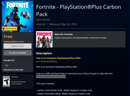 Claim from PS4 Store or PS Website