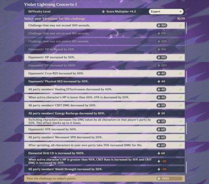 Violet Lightning Concerto I Rec