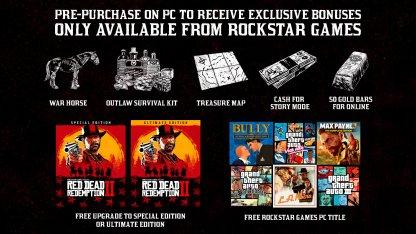 Several Bonuses in Rockstar Games Launcher