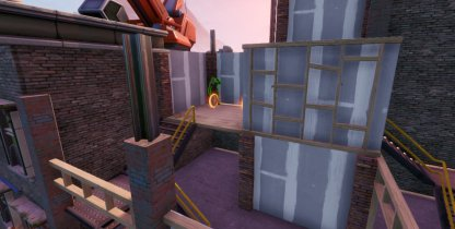 Jonesy Location - Near the Rooftops Close Up
