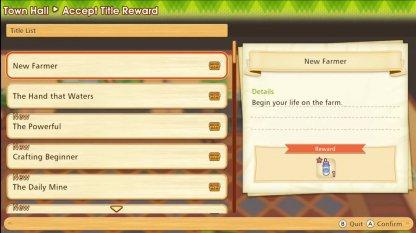 Get Title Rewards