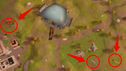 Check Where Enemies Are Landing