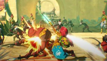 Urbosa Battle style
