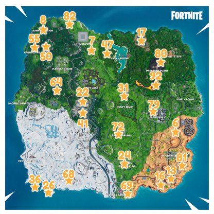 Fortbyte Challenges Location Map