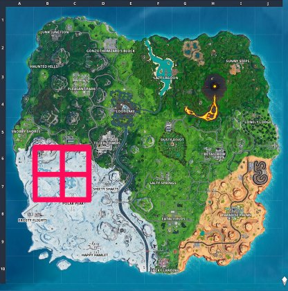 Follow the Coordinates to Find the Secret Banner