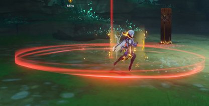 Move Out Of Red Ring To Dodge Attacks