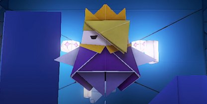A New Villain: The Origami King