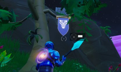Season 8 Week 6 Secret Banner Location Close Up