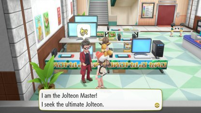 Jolteon Master Trainer