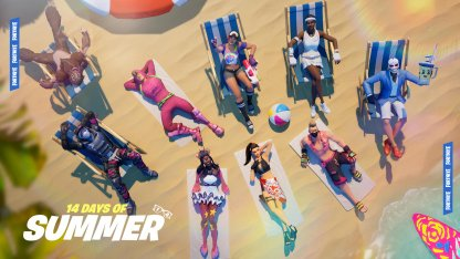Have Fun in the Sun in the 14 Days of Summer Event