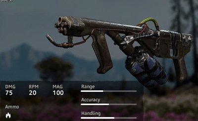 Far Cry New Dawn Rusty Flamethrower