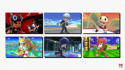 New Looks For The Mii Fighters