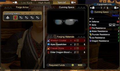 Cunning Specs 1
