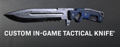 Combat Knife With Custom Skin