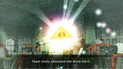 Regirock Drops Rock Part