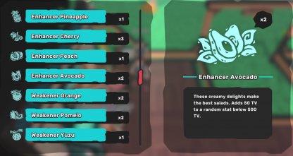 Enhancer Items