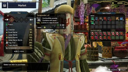Buy Items From The Market