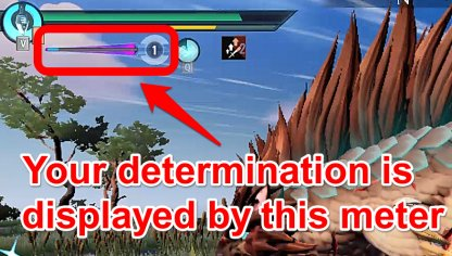 Determination Increases Your Max Damage