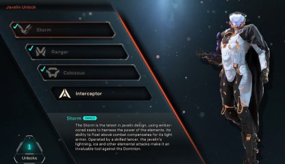 Anthem All Javelin List & Guide