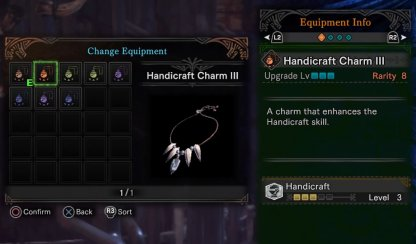 Use A Handicraft Charm