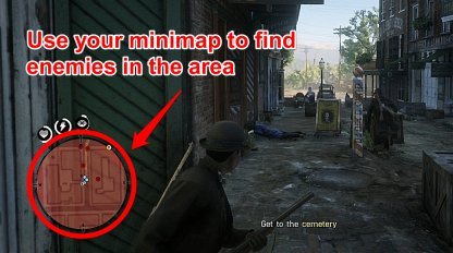 Use Minimap To Check Lawmen Locations