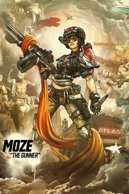 Moze - Gunner Character Class Overview