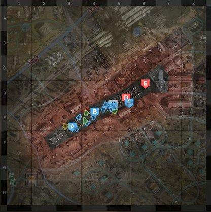 Promenade Map Layout