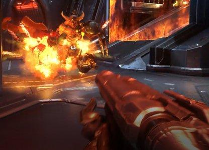 Super Shotgun & Chaingun To Destroy Sled First