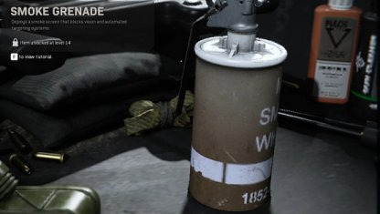 Smoke Grenade Equipment