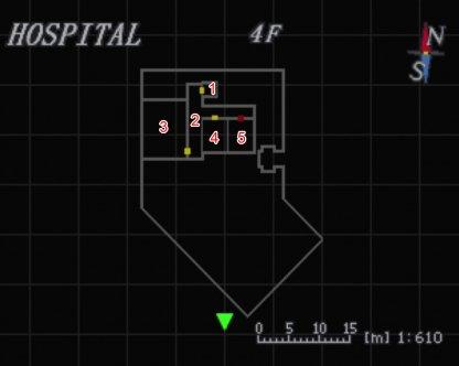 Hospital 4F Map