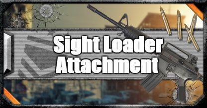 Call of Duty Black Ops IV Weapon Attachments Sight Loader
