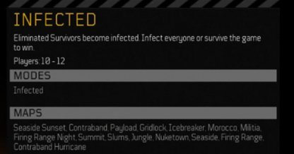 Infected Mode - Multiplayer Tips & Guides
