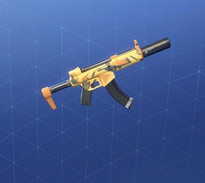 JACKAL Wrap - Submachine Gun