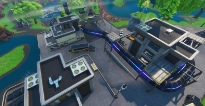 Various Set Locations - Loot Lake Close Up