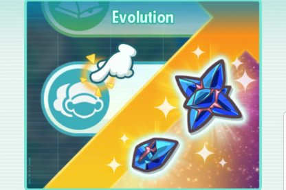 Receive Evolution Info & Use Evolution Items