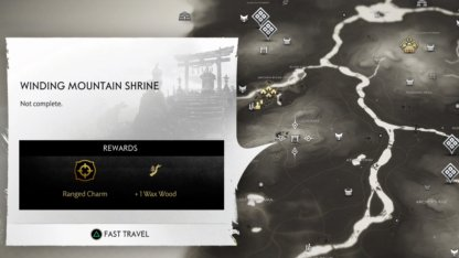 Winding Mountain Shrine