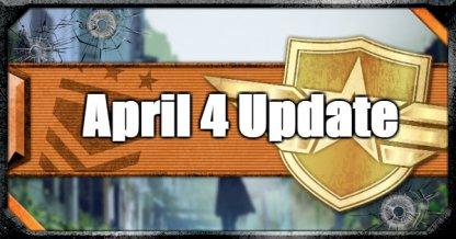 April 4 Update