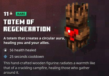 Totem Of Regeneration