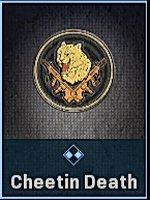 Cheetin Death Emblem