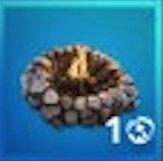Cozy Campfire Icon