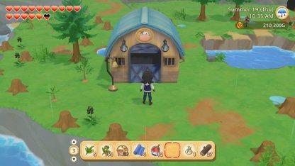 Unlock The Barn