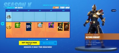 Reach Battle Pass Tier 100